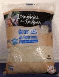 5 kg Gros sel de Guerande-Meersalz grobes-graues-Bretagne/Frank